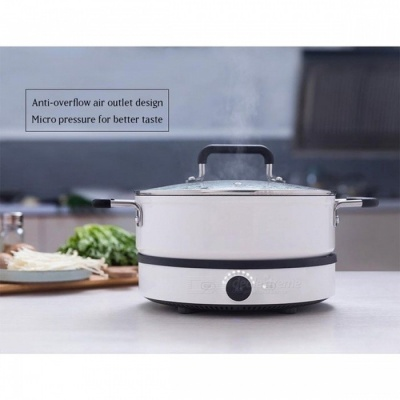 Original Xiaomi Mijia Mi Home Smart Creative Precise Control Induction Cooker with Mijia Pot, APP Remote Control Induction Cooker