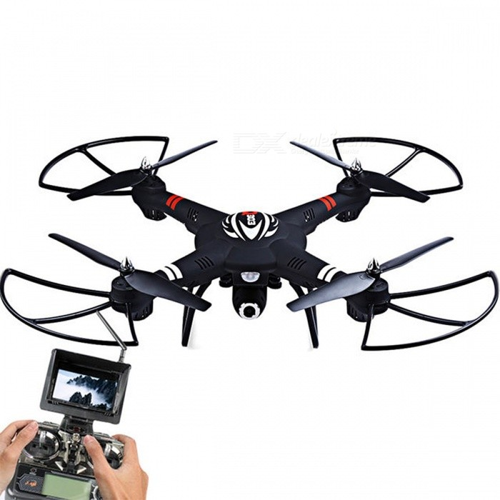 Original WLtoys Q303 RC Helicopters 5.8G FPV HD Camera 4CH 6-Axis Gyro RTF RC Quadcopter Toy VS Hubsan H501S Cheerson CX-20 WLtoys Q303R/C Airplanes&amp;Quadcopters<br>Description<br><br><br><br><br>Type: Helicopter<br><br><br>Features: Remote Control,Shock Resistant<br><br><br><br><br>Aerial Photography: No<br><br><br>State of Assembly: Ready-to-Go<br><br><br><br><br>Age Range: & 14 years old,12-15 Years,Grownups<br><br><br>Motor: Brush Motor<br><br><br><br><br>Material: Plastic,Metal<br><br><br>Package Includes: Charger,Original Box,Camera,Operating Instructions,Batteries,Remote Controller<br><br><br><br><br>Control Channels: 4 Channels<br><br><br>Controller Mode: MODE2<br><br><br><br><br>Power Source: Electric<br><br><br>Brand Name: GREAT POWER STAR<br><br><br><br><br>Remote Control: Yes<br><br><br><br><br><br><br><br><br><br><br><br>Features:  <br><br>5.8G FPV 720P Camera:<br>Attached with a 5.8G FPV and 720P anti-shake camera for better images and videos, you can use it to capture different details and findings as you like!<br><br>One Key Hold Attitude Mode: <br>Air pressure needle can feel the air pressure to adjust the flying <br>height for reducing electricity consumption and make sure safe flying.<br><br>Headless Mode: <br>You just need to control the transmitter, the drone can be arbitrary <br>directed forward, backward, turn left, turn right, no more need to worry<br> about losing control of your drone.<br><br>3D Rolling Function: <br>The drone will flip forward / backward / leftward / rightward according to your instructions.<br><br>Auto Return Function: <br>You just need to press the auto fly or return key button on the <br>transmitter, then the drone will fly or return back automatically.<br><br>6-Axis Gyro Control System: <br>With built-in 6D gyro system, this drone has the characteristic of stable flight and easy operation.<br><br>Long Remote Control Distance: <br>Adopt 5.8G auto connection technology, its remote control distance is about 100 to 150 