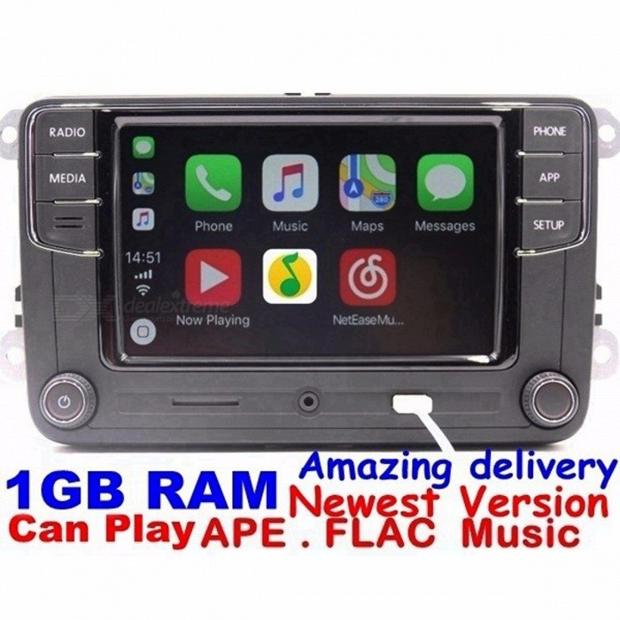 in car entertainment rcd330 plus carplay radio with 1gb. Black Bedroom Furniture Sets. Home Design Ideas