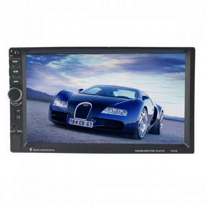 2 DIN 7 Inches Car Stereo MP5 Radio Player, Steering Wheel Control Touch Screen Bluetooth MP4 Player with FM / TF / USB 2 DIN