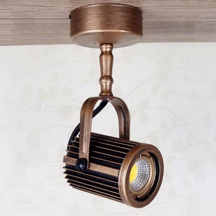 European Syle Retro Long Pole LED Spotlights, Surface Mounted Track Light for Clothing Store Lighting Bronze/5500-6000kDescription<br><br><br><br><br>Item Type: Track Lighting<br><br><br>Style: Modern<br><br><br><br><br>Finish: Iron<br><br><br>Voltage: 220V,230V,260V,120V,110V,130V,240V<br><br><br><br><br>Certification: CE,CCC<br><br><br>Brand Name: wecus<br><br><br><br><br>Power Source: AC<br><br><br>Light Source: LED Bulbs<br><br><br><br><br>Base Type: Wedge<br><br><br>Is Dimmable: No<br><br><br><br><br>Is Bulbs Included: Yes<br><br><br>Switch Type: Knob switch<br><br><br><br><br>Usage: Industrial<br>
