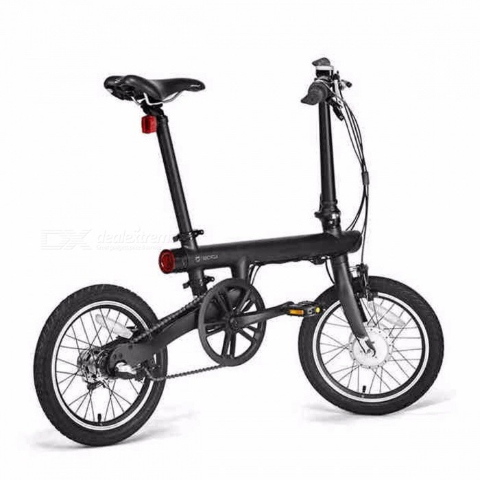 16 Inches Original XiaoMi Electric Smart Folding Bike Qicycle, Portable Mini Ebike with Built-in Lithium Battery Black