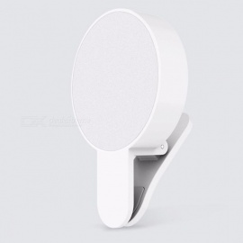 Original-Xiaomi-Mijia-Yuemi-Three-Dimming-Minimalist-Design-Beauty-Fill-LED-Light-(USB-Charge-Version)-for-Xiaomi-Smart-Home-White