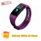Y5 Color Screen Wristband Watch Smart Electronics Bracelet Waterproof Heart Rate Activity Fitness VS for Xiaomi Miband 2 Blue