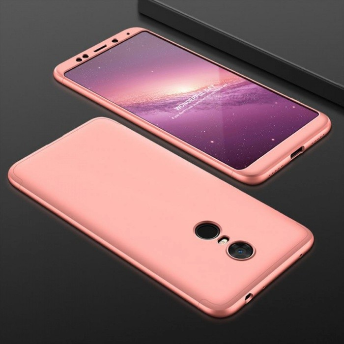 separation shoes 5b557 0a0cb UVR Case For Xiaomi Redmi 5 Plus Case 360 Degree Full Protection Matte Hard  PC 3 in 1 Back Cover For Redmi 5 Fundas Couque For Redmi 5 Plus/Rose Gold