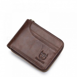 Genuine-Leather-Men-Wallets-Short-Coin-Purse-Small-Retro-Wallet-Cowhide-Leather-Card-Holder-Pocket-Purse-Men-Wallets