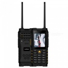 T2-IP68-Waterproof-Shockproof-Phone-Walkie-talkie-Radio-zello-24-Strong-Flashlight-Signal-GSM-4500mAh-Mobile-Phone-F22-YellowStandard-Phone