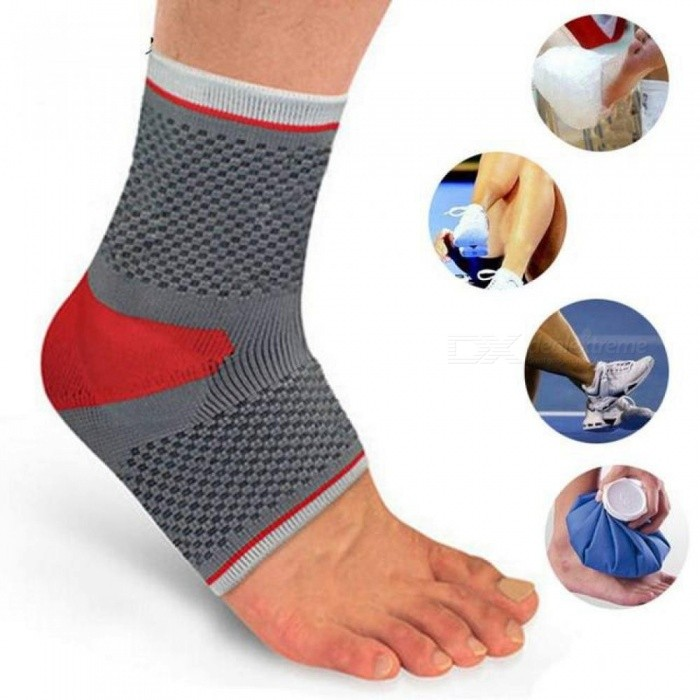 Professional-Sports-Safety-Ankle-Support-Strong-Ankle-Bandage-Elastic-Brace-Guard-Support-Sport-Gym-Foot-Wrap-Protection-XL