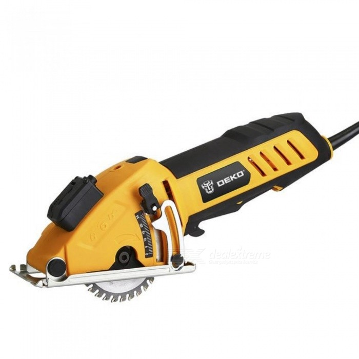 Mini-Circular-Saw-Power-T-with-Laser-4-Blades-Dust-passage-Allen-key-Auxiliary-Handle-BMC-BOX-Depth-07e285mm