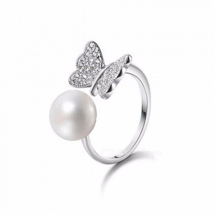 Fashion-Ring-Pearl-Jewelry-8-9mm-Butterfly-Rings-Natural-Freshwater-Pearl-925-Sterling-Silver-Jewelry-For-Women-Gift-Resizable