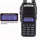 Hot-Portable-Two-way-Transceiver-Radio-Walkie-Talkie-10-km-CB-Ham-Radio-Amateur-for-VHF-UhF-Dual-Band-UV82-Black