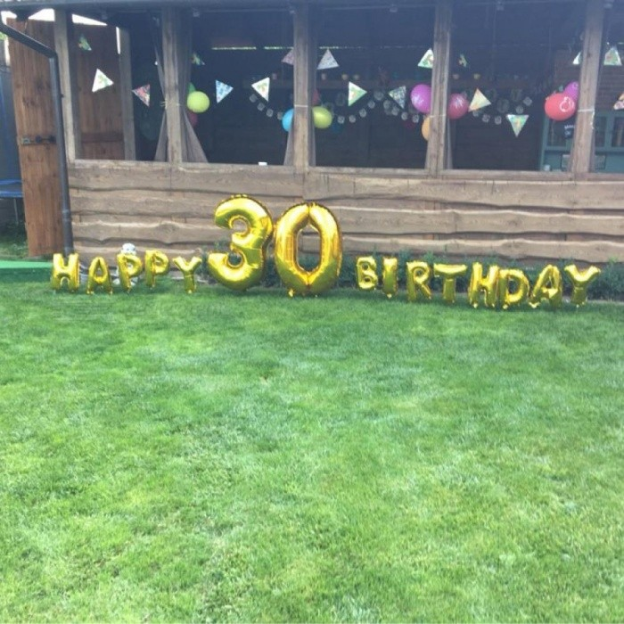 32 Inch Gold Silver Number Foil Balloons Digit air Ballons Happy Birthday Wedding Decoration Letter balloon Event Party Supplies Gold 9 for sale in Bitcoin, Litecoin, Ethereum, Bitcoin Cash with the best price and Free Shipping on Gipsybee.com