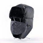 Ushanka-Russian-Faux-Fur-Cap-Men-Winter-Hats-Ear-Flaps-Aviator-Snow-Bomber-Hat-for-Women-Warm-Troop-Caps-Black