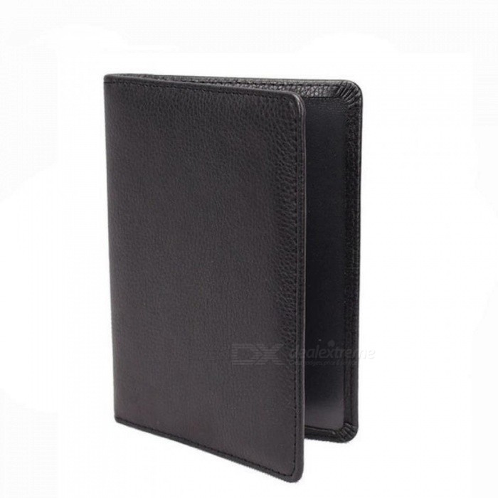 Men Travel Wallet Credit Card Holder Cover for Documents Case Passport Cover Leather Passport Holder