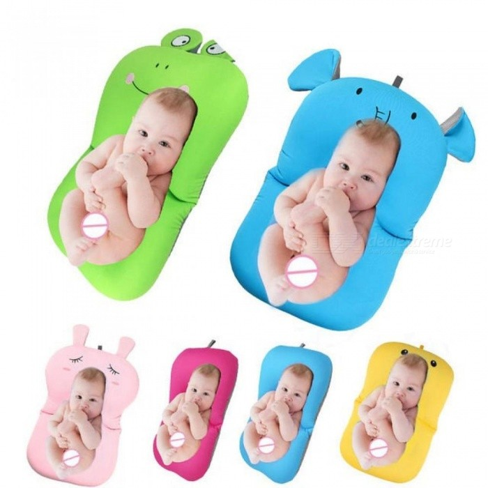 Baby-Bath-Tub-Newborn-Baby-Foldable-Baby-Bath-Tub-Pad-amp-Chair-amp-Shelf-Newborn-Bathtub-Seat-Infant-Support-Cushion-Mat-Bath-Mat