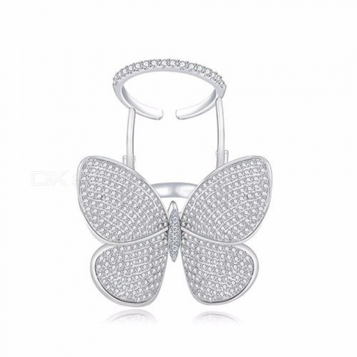 High-Quality-Fashionable-Unique-Adjustable-Ring-Micro-Paved-Shining-Movable-Butterfly-Shape-Jewelry-for-Party-Gift-Gold9