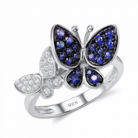 Silver-Butterfly-Ring-925-Sterling-Silver-Fashion-Rings-for-Women-Cubic-Zirconia-Ringen-Party-Jewelry-9