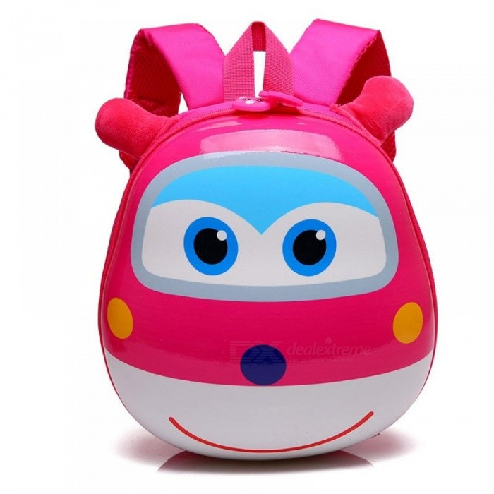 Buy Super Wings Cute Kid School Bags Cartoon Character 3D Style Children Backpacks Kindergarten Girls Boys Baby Backpack Pink with Litecoins with Free Shipping on Gipsybee.com
