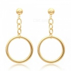 Fashion Jewelry Accessories Bohemia Big Hollow Circle Design Hoop Earring Best Gift for Lover's Girl  Style 1