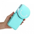 Portable-Mini-Air-Conditioner-Fan-Smile-Face-USB-Rechargeable-Cooling-Fan-with-Lithium-Battery-Outdoor-Travelling-Handheld-Fan-Gray