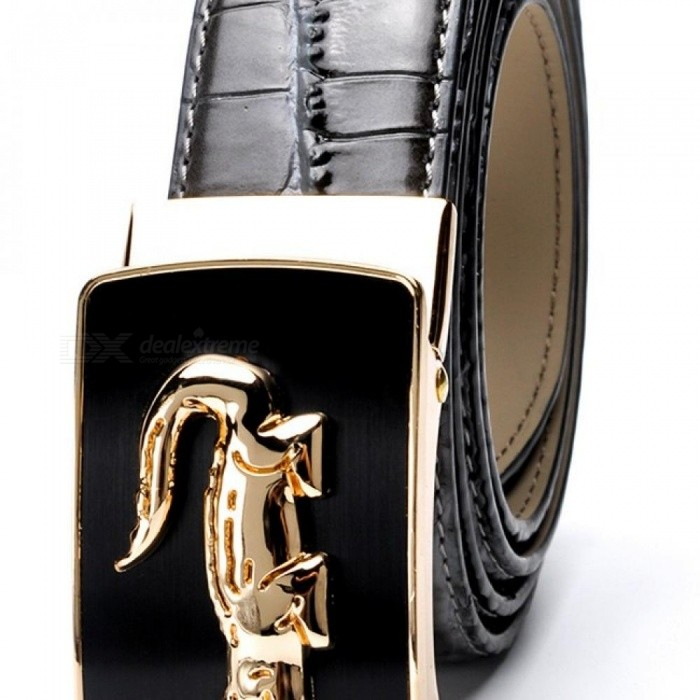 Fashion-Crocodile-Pattern-Belt-Luxury-Alligator-Automatic-Buckle-Mens-Belts-without-Buckle-Tooth-On-Strap-Black