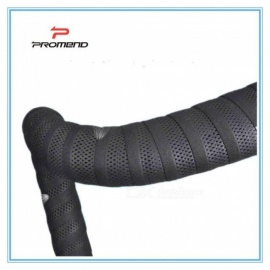 Road-Bikes-Bicycle-Handlebar-Tape-Balck-Mesh-Design-Non-slip-waterproof-Bartape-Soft-EVA-Sponge-Leather-Tape
