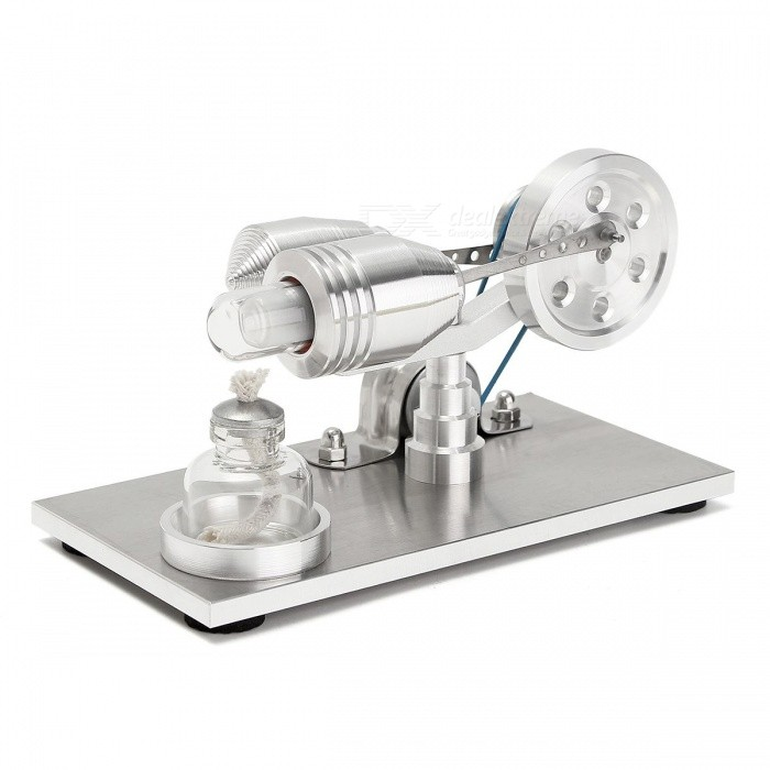 Buy New Arrival Stainless steel Mini Hot Air Stirling Engine Motor Model Educational Toy Science Experiment Kit  Set  For Chuldren with Litecoins with Free Shipping on Gipsybee.com
