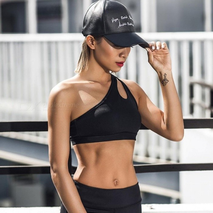 Sexy-One-Shoulder-Solid-Sports-Bra-Women-Fitness-Yoga-Bras-Gym-Padded-Sports-Top-Athletic-Underwear-Workout-Running-Clothing-SWhite