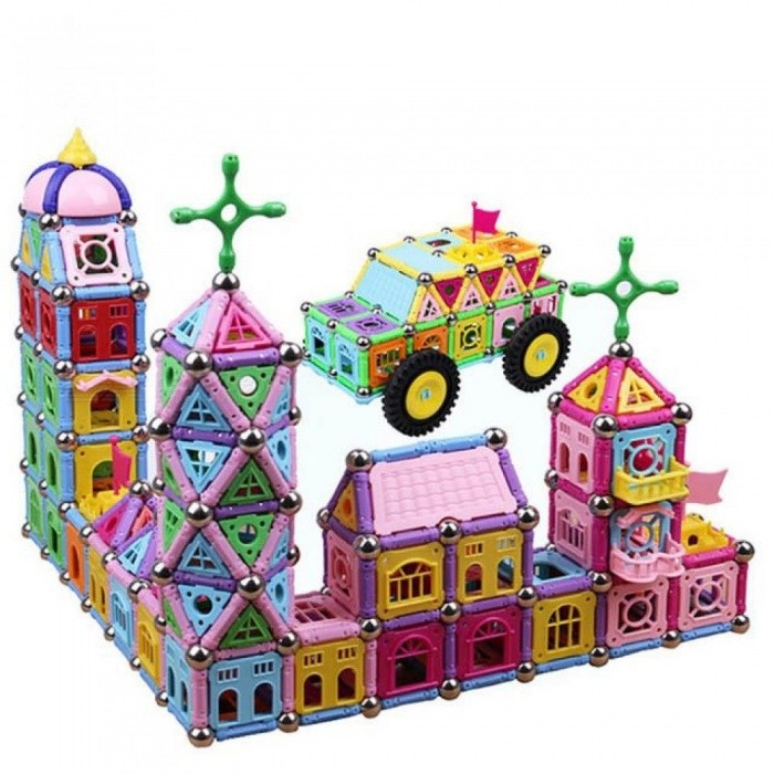 Buy 218pcs Magnetic Sticks Toy Building Kits DIY Series Intelligence Toys Set Educational Handmade Building Magnet Blocks Assemblage 218pcs with Litecoins with Free Shipping on Gipsybee.com