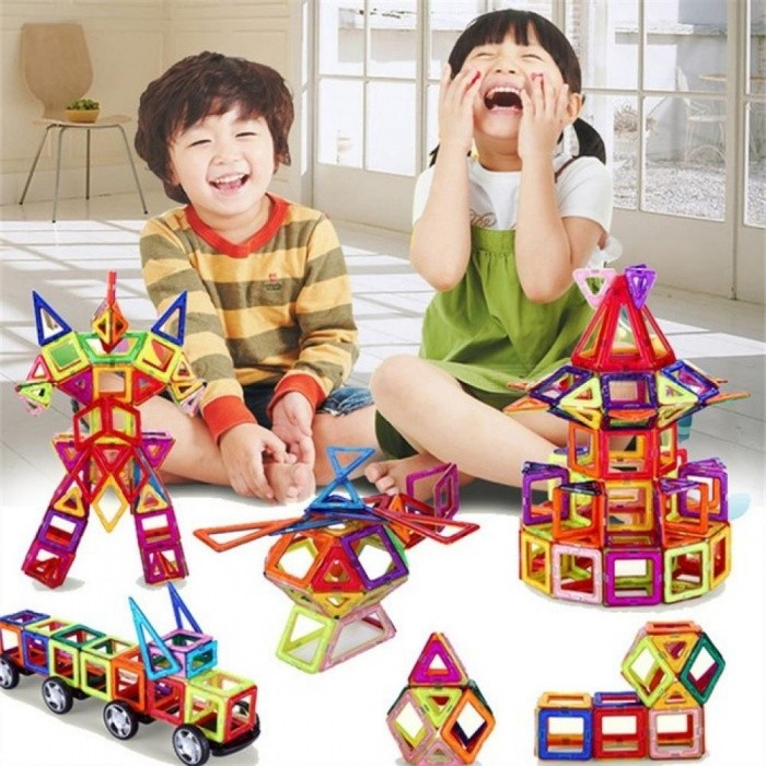 Buy 108pcs Standard Size DIY Magnetic Building Blocks Magic Magnet Pulling Magnetic Building Blocks Assembled Gifts for Children 108 PCS with Litecoins with Free Shipping on Gipsybee.com