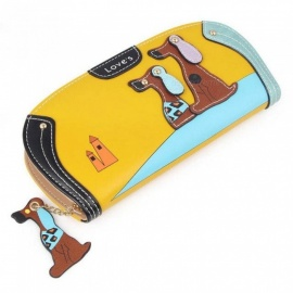 Cute-Long-Wallet-Women-PU-Leather-Cartoon-Dog-Bag-Lady-Clutch-Phone-Case-Puppy-Zipper-Card-Holder-Female-Change-Purses-Round