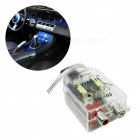 RV77 Car Stero Radio Speaker High To Low RCA Line Audio Impedance Converter  90*40*27mm  Supply Voltage 12 (V)