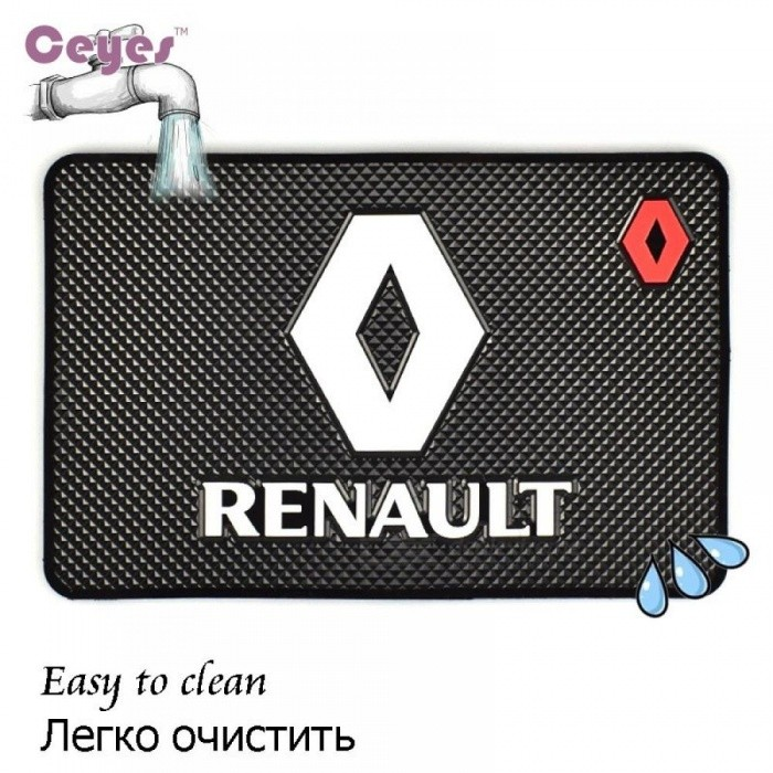 Ceyes Car Styling Excellent Mat Interior Accessories Fit For Renault Duster Megane 2 Logan Megane 3 Clio Car-Styling Sticker 1pc