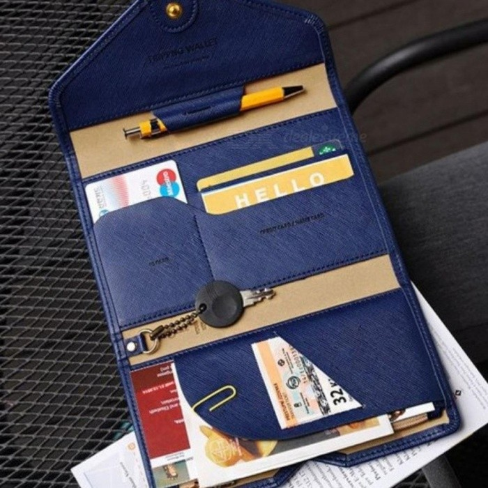 2018 Hot Selling Korean Style Passport Wallet Multifunction Credit Card Package ID Holder Travel Clutch Bag for Women and Wen