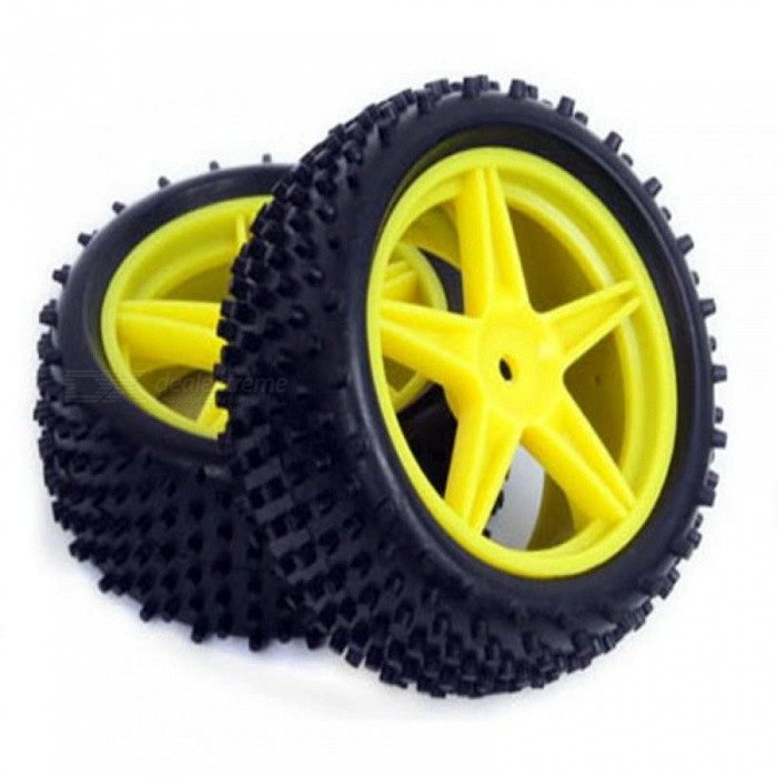 Buy 4pcs RC 1/10 Buggy Wheels & Tires 12mm Hex for RC Off Road Car HPI HSP 94107 94166 94106 Cross-Country Snow Desert Tires White with Litecoins with Free Shipping on Gipsybee.com