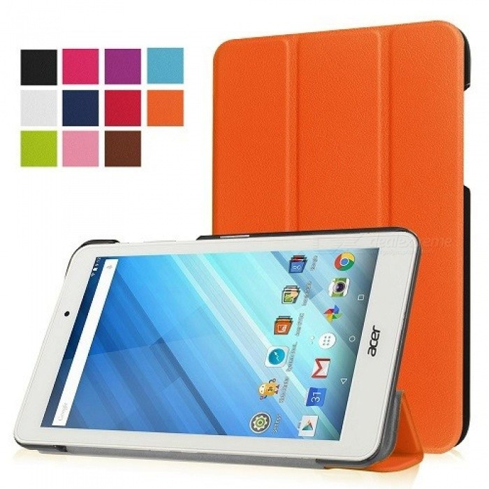Protective Leather Cover Stand Case Magnet Cover Case for Acer Iconia One 8 B1-850 8