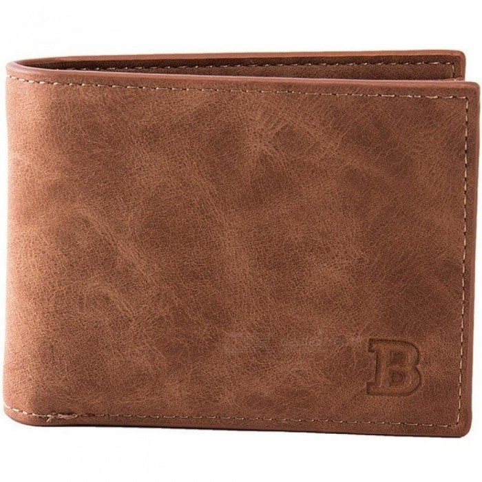 Buy Classic Leather Coin Purses Bag Zipper New Design Dollar Price Top Slim Men Wallet Standard Wallet No Zipper Brown with Litecoins with Free Shipping on Gipsybee.com