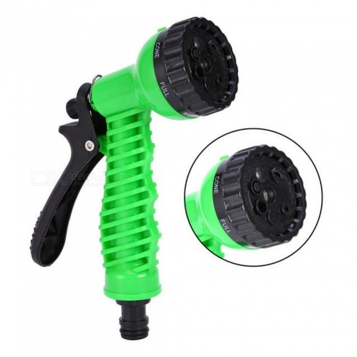 Buy Garden Water Sprayers Water Gun for Watering Lawn Hose Spray Water Nozzle Gun Car Washing Cleaning Lawn Plastic Sprinkle Tools Green with Litecoins with Free Shipping on Gipsybee.com