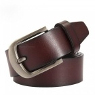 Cow-Genuine-Leather-Men-Fashion-Classic-Vintage-Style-Male-Belts-for-Men-Pin-Buckle-Size-from-100cm-to-125cm-110cm-31to33-Inchbrown
