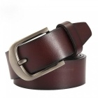 Cow-Genuine-Leather-Men-Fashion-Classic-Vintage-Style-Male-Belts-for-Men-Pin-Buckle-Size-from-100cm-to-125cm-105cm-28to30-Inchbrown