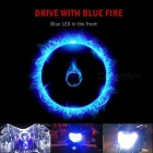 H4 LED Motorcycle Headlight Hi/Low Bulb All-in-One Lamp 12V 2 Sides H6 BA20D LED Motorcycle Headlamp Blue LED on Top H4