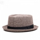 England-Retro-Men-Couple-Women-Fedoras-Top-Jazz-Hat-Spring-Summer-Autumn-Bowler-Hats-Cap-Classic-Version-Brown