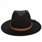 Autumn-Winter-Sun-Hat-Women-Men-Fedora-Hat-Classical-Wide-Brim-Felt-Floppy-Cloche-Cap-Chapeau-Imitation-Wool-Cap-coffee