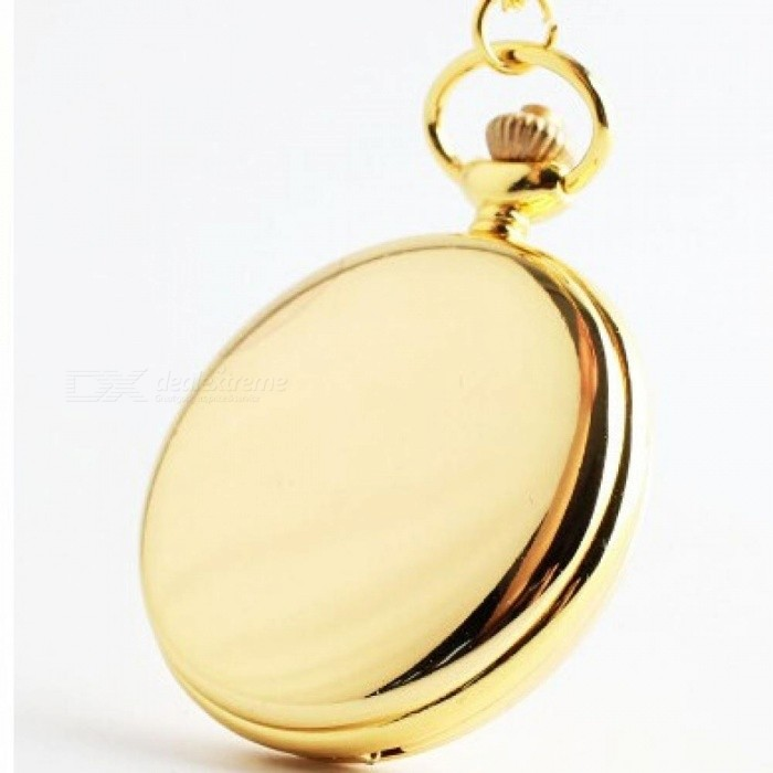 Fashion Polish Smooth Quartz Pocket Watch Jewelry Alloy Chain Pendant Necklace Man Women Gift Silver Bronze Black Gold silver for sale in Bitcoin, Litecoin, Ethereum, Bitcoin Cash with the best price and Free Shipping on Gipsybee.com