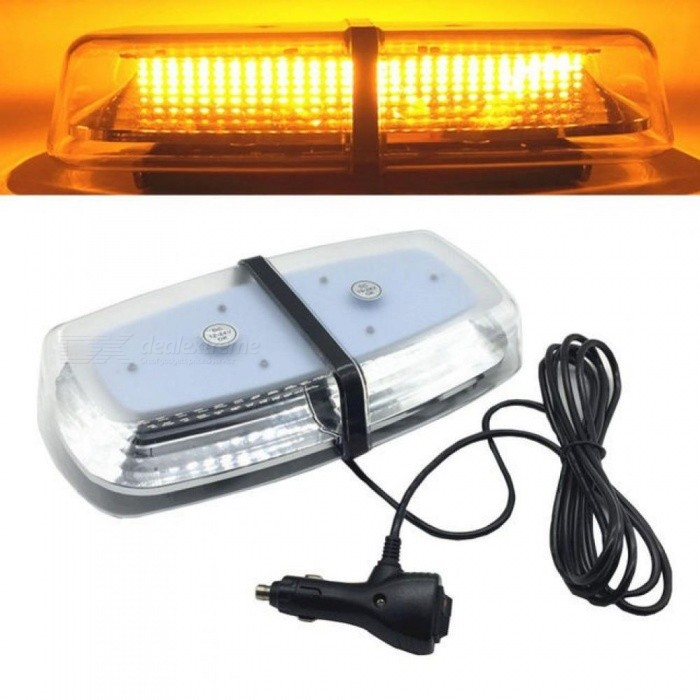 Buy DC12V 24V 72 LED Amber Car Roof Strobe Light Emergency Beacon Flashing Warning Lamp Lighting Magnetic Mounted Yellow with Litecoins with Free Shipping on Gipsybee.com