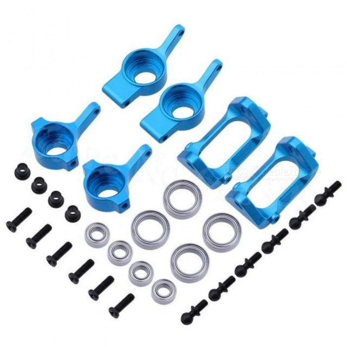 Buy Aluminum Front Rear Steering Hub Base C Carrier Knuckle Upgrade Kit for Wltoys A959 A949 A969 A979 K929 1/18 RC Car Upgrade Kit with Litecoins with Free Shipping on Gipsybee.com