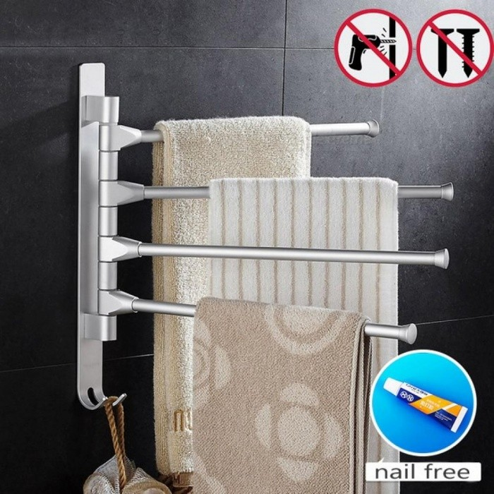 Space-Aluminium-Towel-Rack-5432-Arms-Towel-Hanging-with-Hooks-Bathroom-Towel-Rack-Movable-Towel-Bars-2-bar