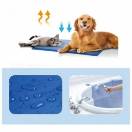 Summer-Pet-Mat-Dog-Puppy-Cat-Cool-Ice-Mat-Pad-Dog-Bed-Cooling-Sleeping-Kennel-Bed-Pad-Travel-Mat-S-M-MD-Size-Mats-for-Dog-Bed-MDBlue