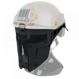 Full-Face-Tactical-Mask-New-Type-Airsoft-SPT-Mesh-SPT-Mesh-Sparta-Combat-Face-Mask-AF-Helmet-Mounting-ABS-Coyote-Brown