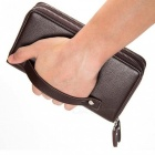 Genuine-Leather-Mens-Wallets-Multifunction-Long-Men-Wallet-Clutch-Male-Coin-Purse-Money-Bags-Card-Holder-Brown